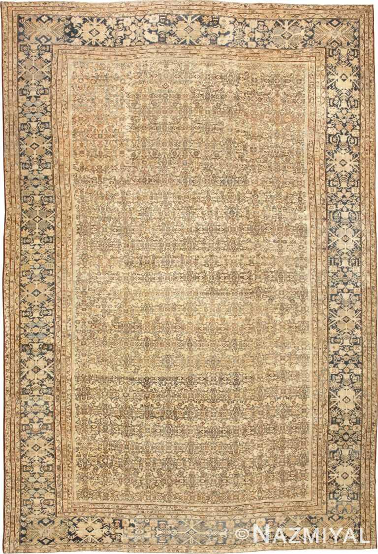Large Oversize Antique Persian Sultanabad Rug 50654 Nazmiyal