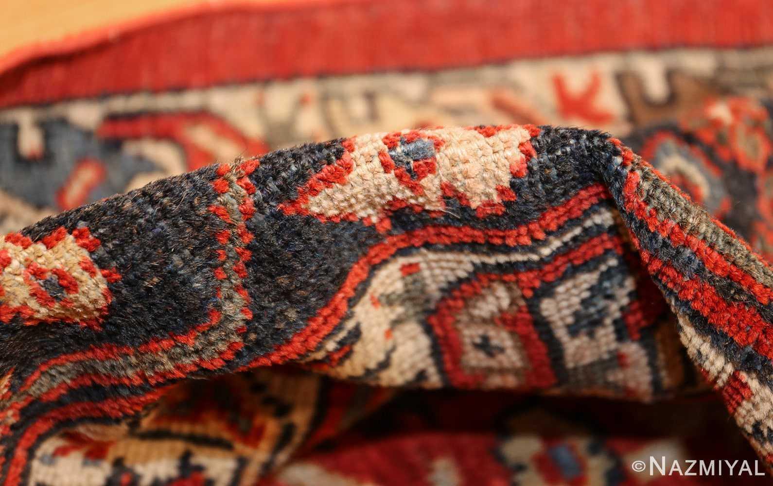 large oversized antique geometric persian mahal sultanabad rug 50586 pile Nazmiyal