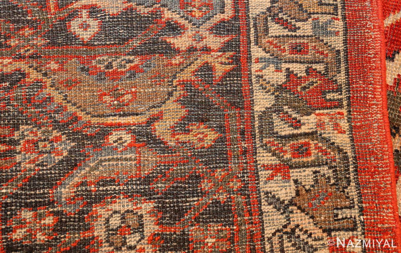 large oversized antique geometric persian mahal sultanabad rug 50586 weave Nazmiyal