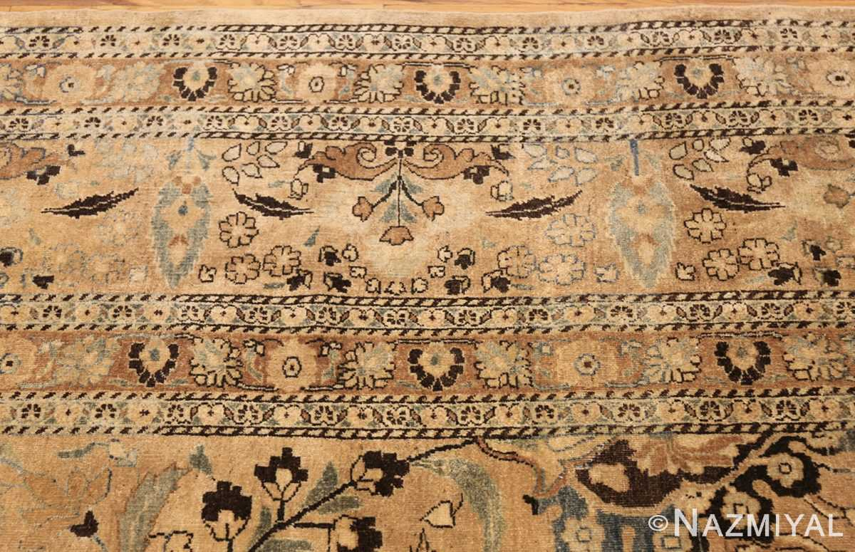 large scale antique persian khorassan rug 48298 border Nazmiyal