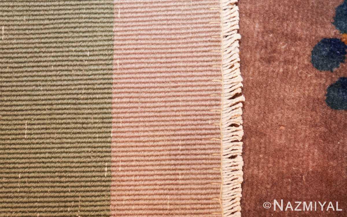 purple antique art deco chinese rug 48769 weave Nazmiyal
