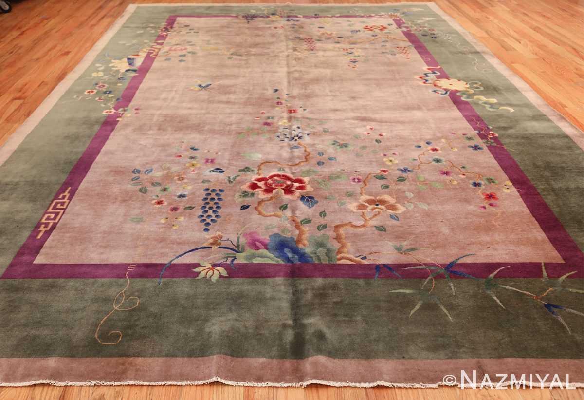 purple antique art deco chinese rug 48769 whole Nazmiyal