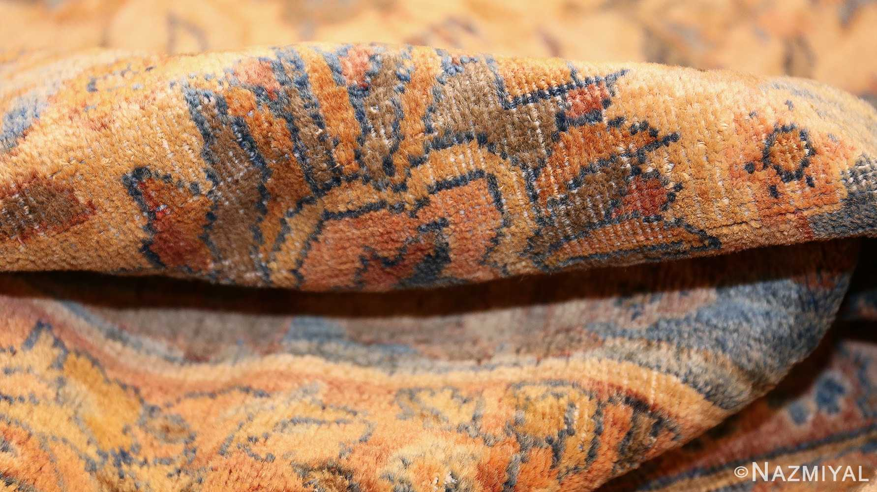 rare square size persian antique tabriz rug 50359 pile Nazmiyal