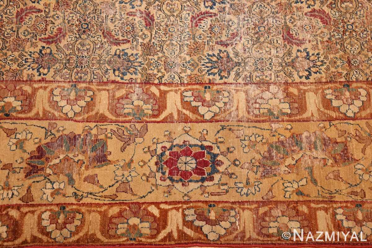 small rare antique persian kerman rug 48799 part Nazmiyal