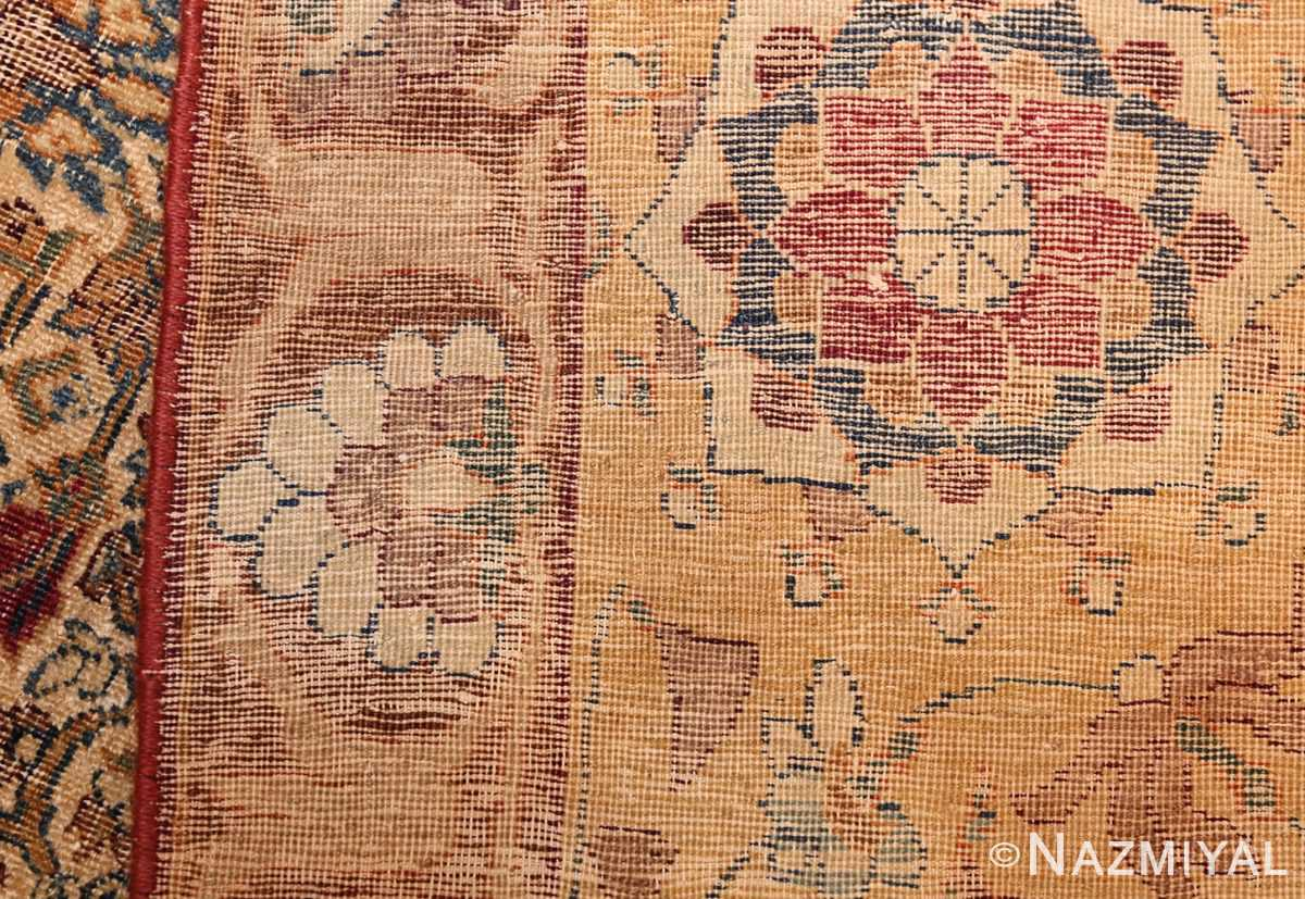 small rare antique persian kerman rug 48799 weave Nazmiyal