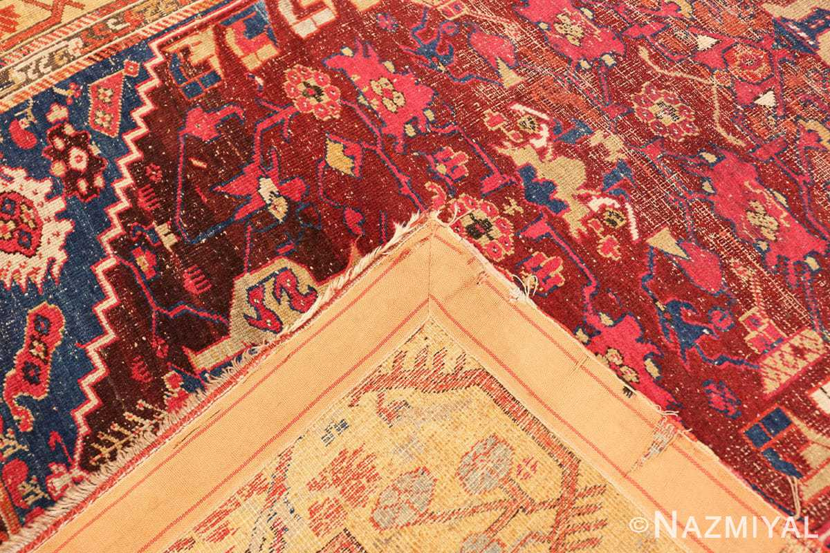 Weave beautiful 17th Century Tribal Antique Turkish Kula rug 48813 by Nazmiyal