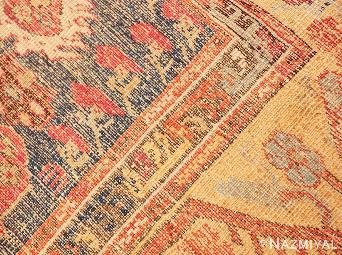 Weave detail beautiful 17th Century Tribal Antique Turkish Kula rug 48813 by Nazmiyal