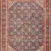 Blue Background Persian Antique Sultanabad Rug 50684 Nazmiyal