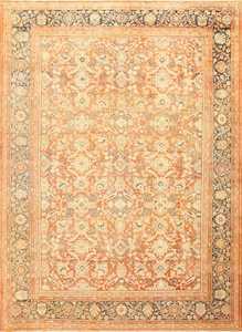 Decorative Antique Persian Sultanabad Mahal Rug 48731 Nazmiyal