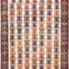 Ivory Vintage Tribal Persian Afshar Rug 50687 Nazmiyal