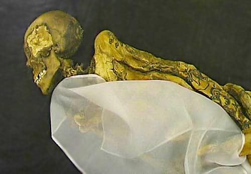 "Pazyryk Mummy Of The Ukok Princess the ""Siberian Ice Maiden"" - Nazmiyal"