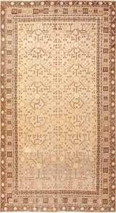 Pomegranate Design Antique Khotan Rug 50673 Nazmiyal
