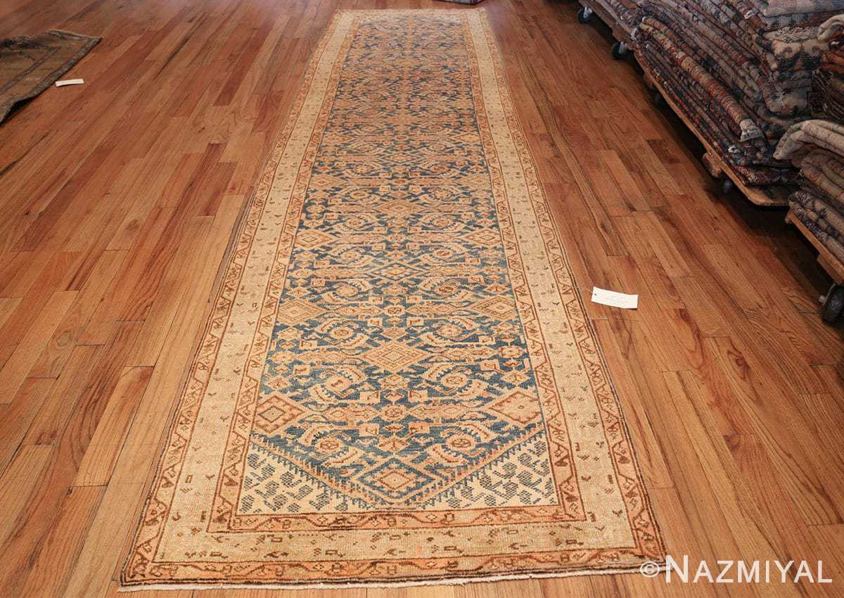 antique light blue persian malayer runner oriental rug 50162 whole Nazmiyal
