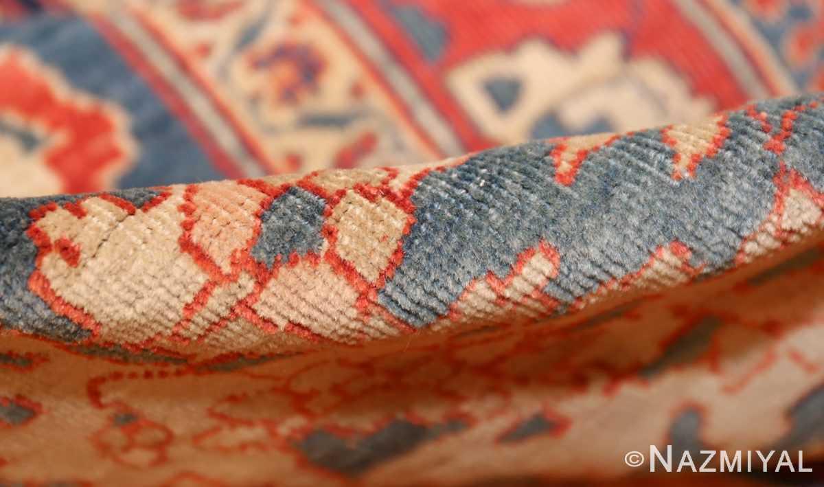 antique persian ivory sarouk farahan oriental rug 40530 pile Nazmiyal