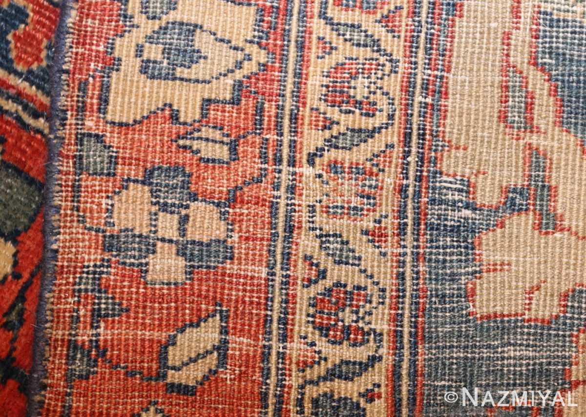 antique persian ivory sarouk farahan oriental rug 40530 weave Nazmiyal