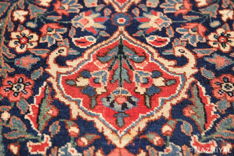 antique tree of life design persian tabriz rug 50668 birds Nazmiyal