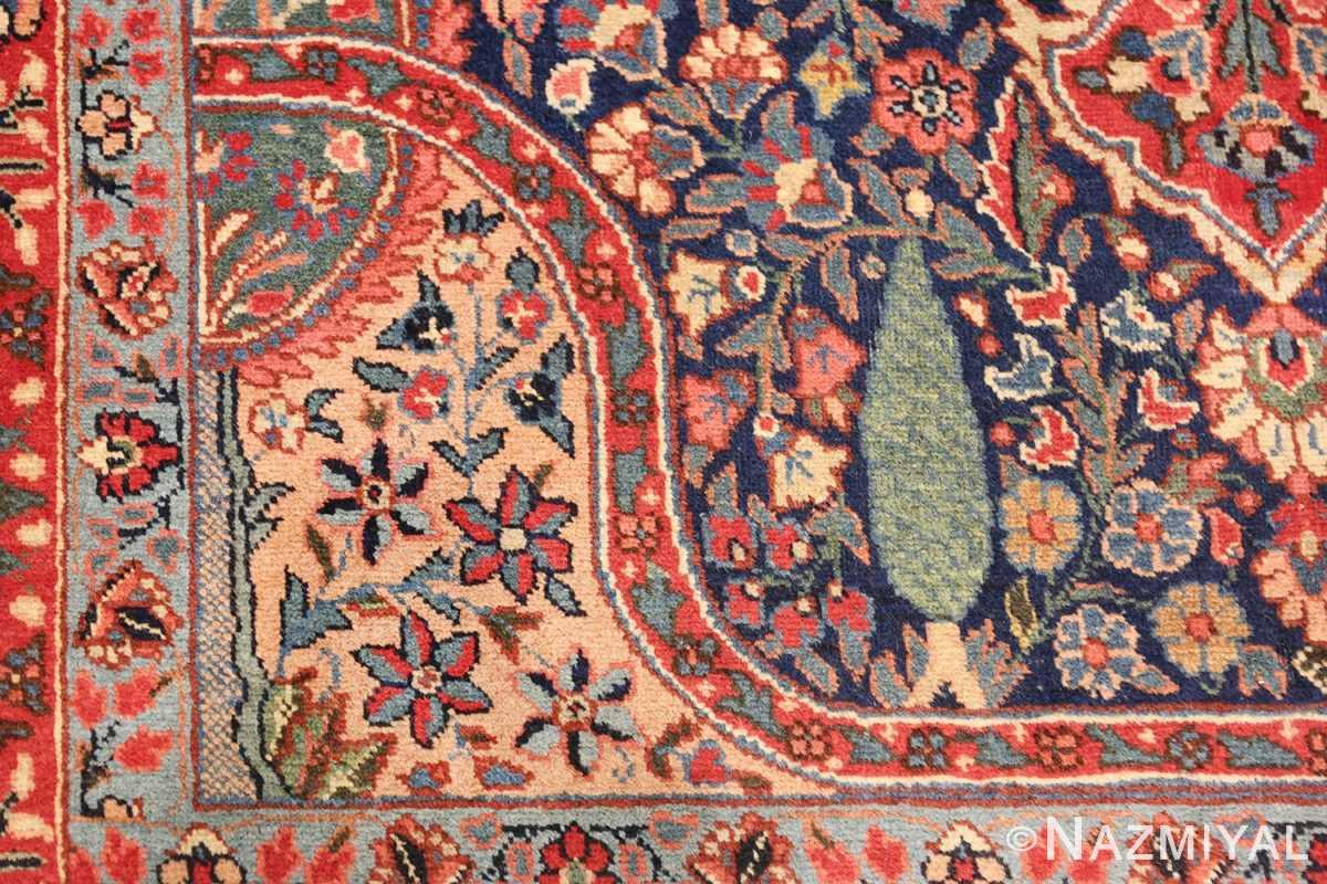 antique tree of life design persian tabriz rug 50668 design Nazmiyal