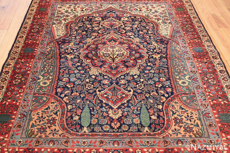 antique tree of life design persian tabriz rug 50668 field Nazmiyal