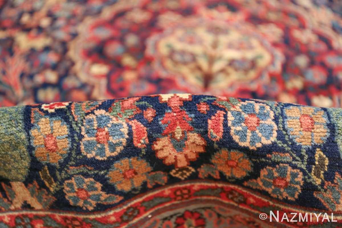 antique tree of life design persian tabriz rug 50668 pile Nazmiyal