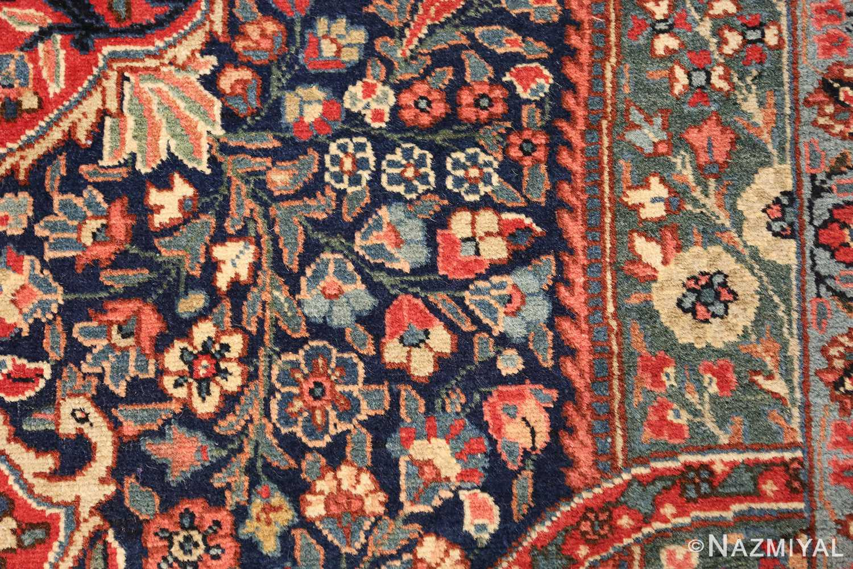 antique tree of life design persian tabriz rug 50668 scrolls Nazmiyal