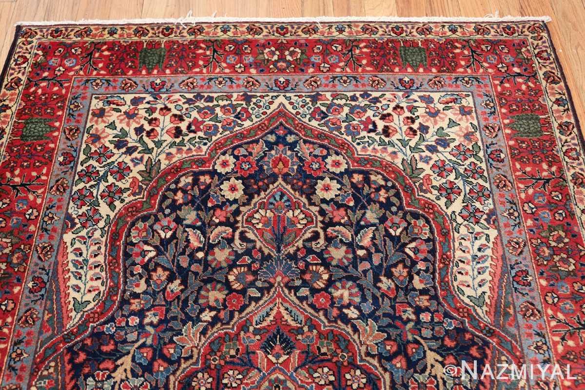 antique tree of life design persian tabriz rug 50668 top Nazmiyal