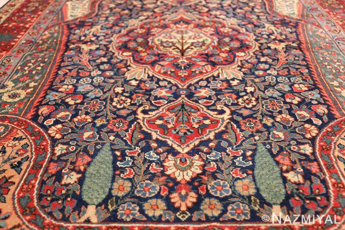 antique tree of life design persian tabriz rug 50668 tree Nazmiyal