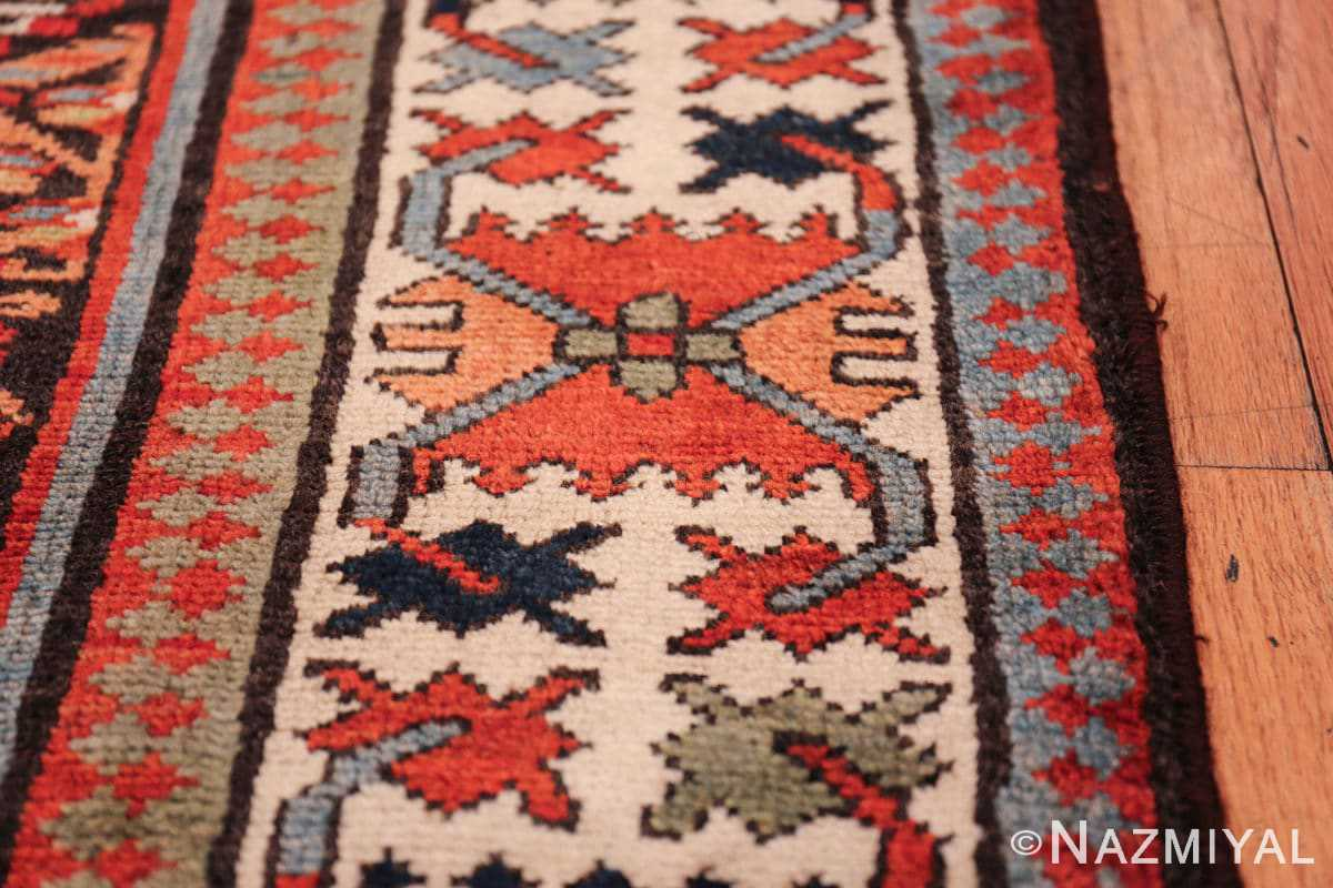 antique tribal northwest persian runner rug 50669 border Nazmiyal
