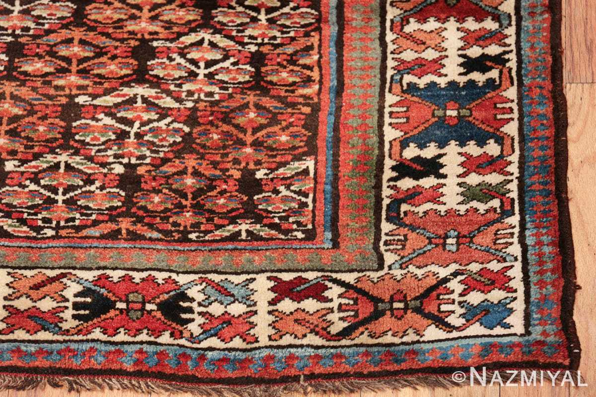 antique tribal northwest persian runner rug 50669 corner Nazmiyal