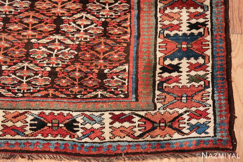 antique tribal northwest persian runner rug 50669 corner Nazmiyal