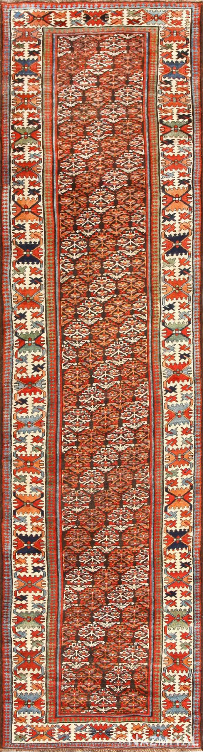 Antique Tribal Northwest Persian Runner Rug 50669 Nazmiyal