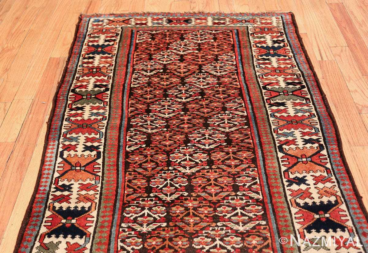 antique tribal northwest persian runner rug 50669 red Nazmiyal