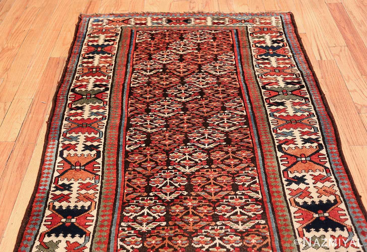 antique tribal northwest persian runner rug 50669 red Nazmiyal