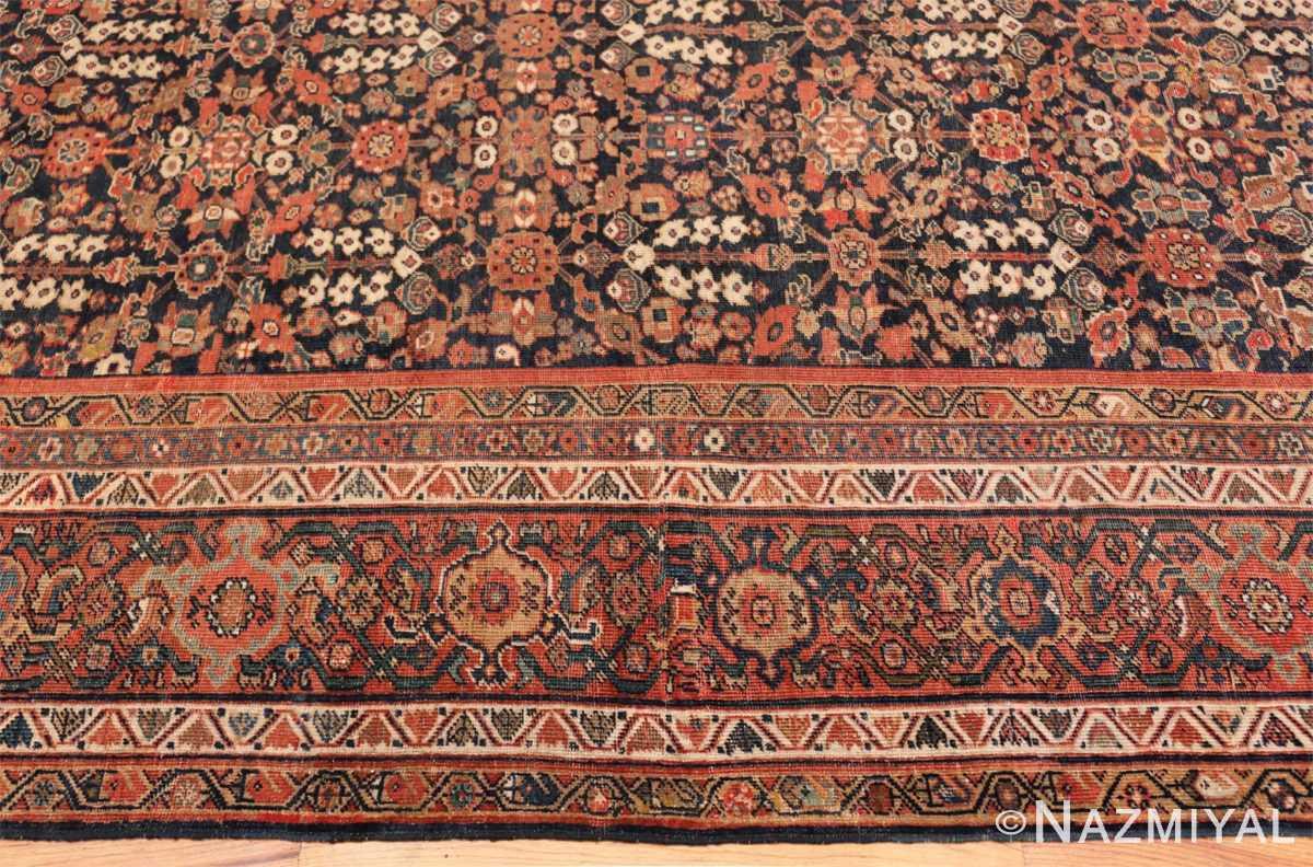 Border Persian Antique Sultanabad rug 50684 by Nazmiyal