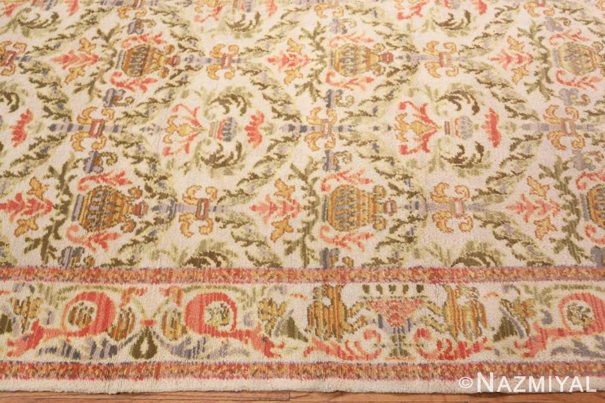 Border Decorative Large Antique Spanish rug 50581 by Nazmiyal