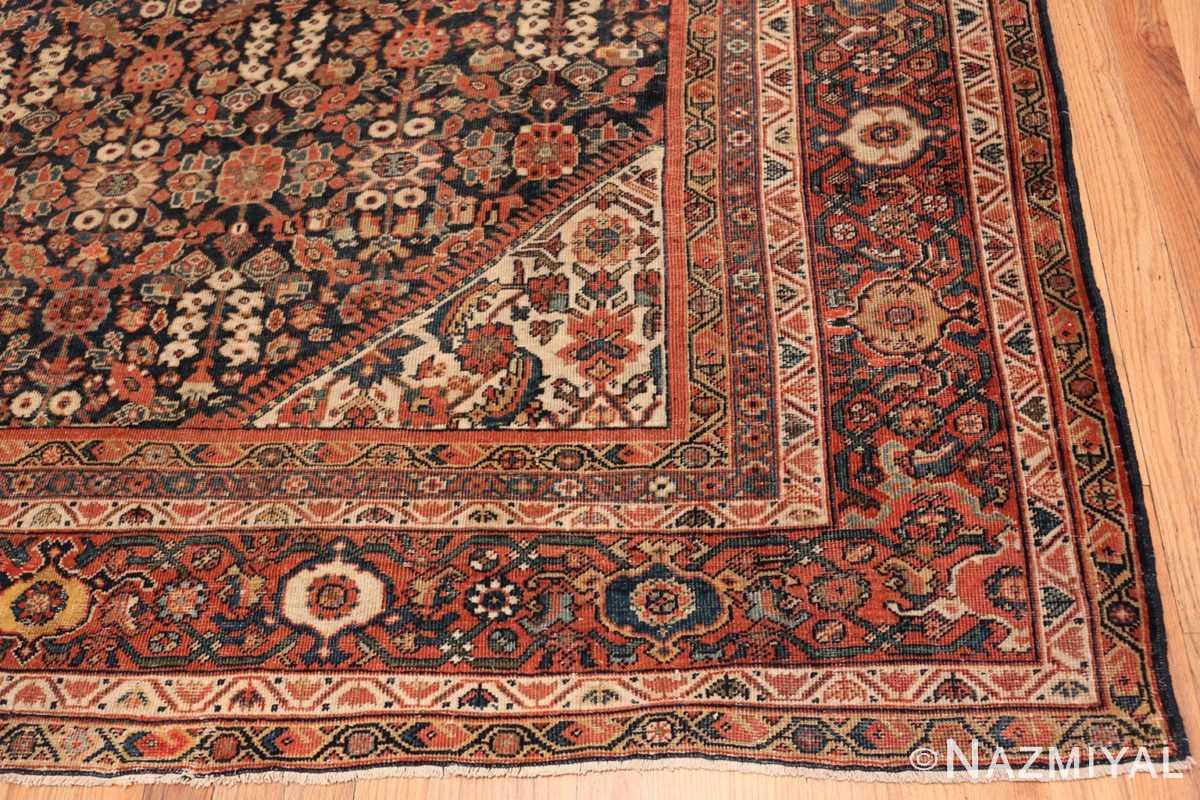 Corner Persian Antique Sultanabad rug 50684 by Nazmiyal