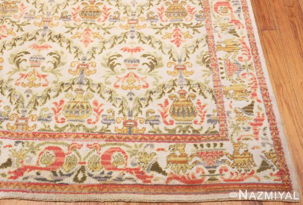 Corner Decorative Large Antique Spanish rug 50581 by Nazmiyal