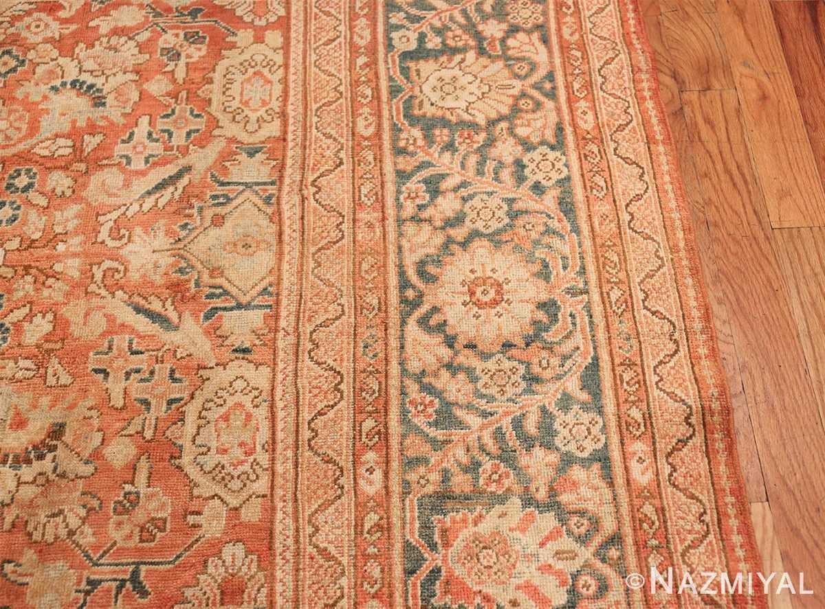 Decorative Antique Persian Sultanabad Mahal Rug 48731 Border Design Nazmiyal