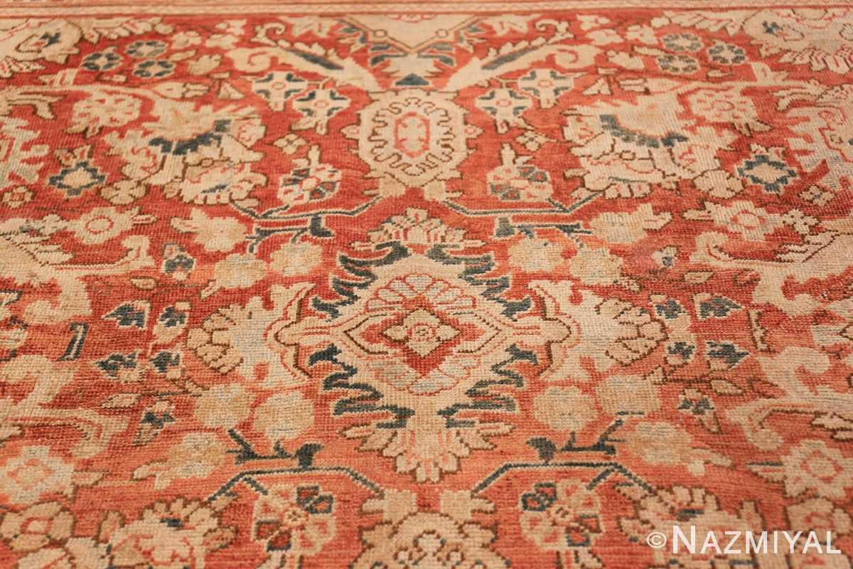 Decorative Antique Persian Sultanabad Mahal Rug 48731 Dark Side Nazmiyal