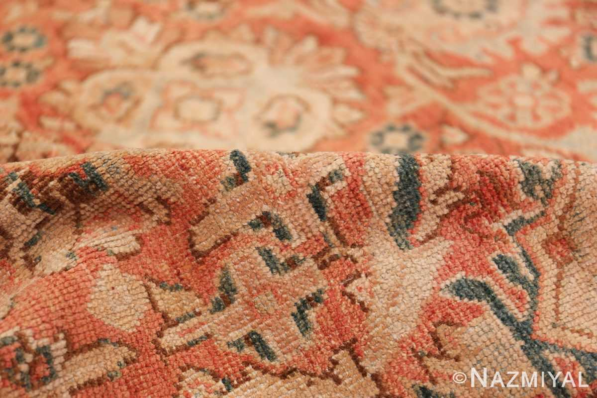Decorative Antique Persian Sultanabad Mahal Rug 48731 Pile Nazmiyal
