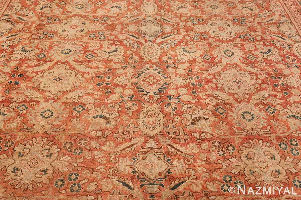 Decorative Antique Persian Sultanabad Mahal Rug 48731 Upper Design Nazmiyal