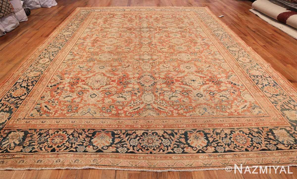 Decorative Antique Persian Sultanabad Mahal Rug 48731 Whole Design Nazmiyal