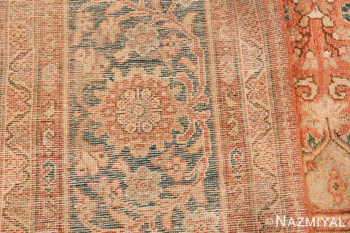 Decorative Antique Persian Sultanabad Mahal Rug 48731 Woven Knots Nazmiyal
