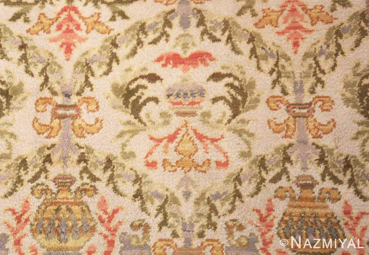 Detail Decorative Large Antique Spanish rug 50581 by Nazmiyal