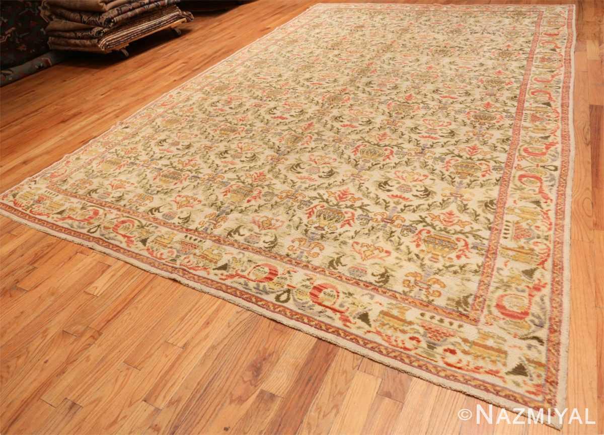 Full Decorative Large Antique Spanish rug 50581 by Nazmiyal