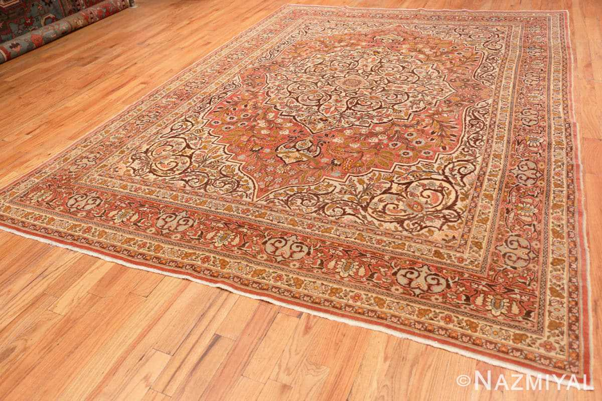 Full Fine Antique Persian Tabriz Oriental rug 50572 by Nazmiyal