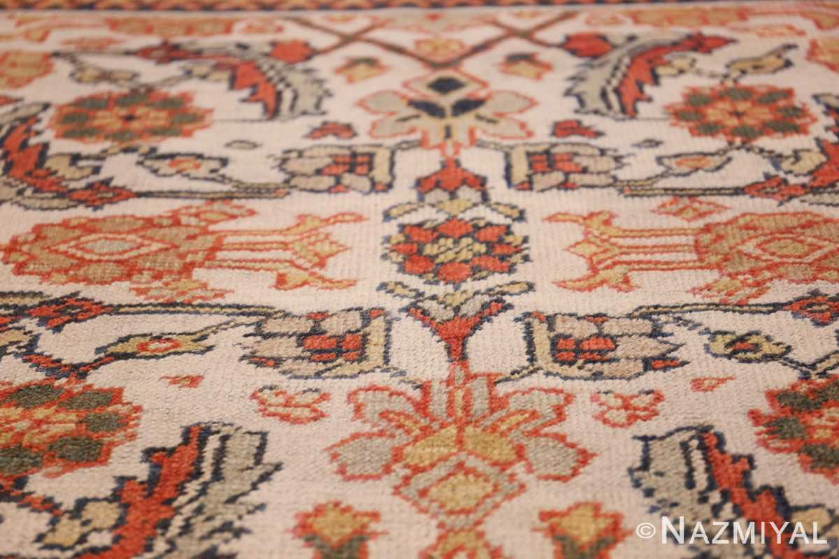 ivory antique sultanabad persian rug 50659 ivory Nazmiyal