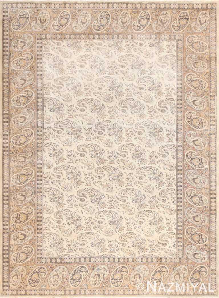 Paisley Design Antique Turkish Sivas Carpet 50520 Nazmiyal