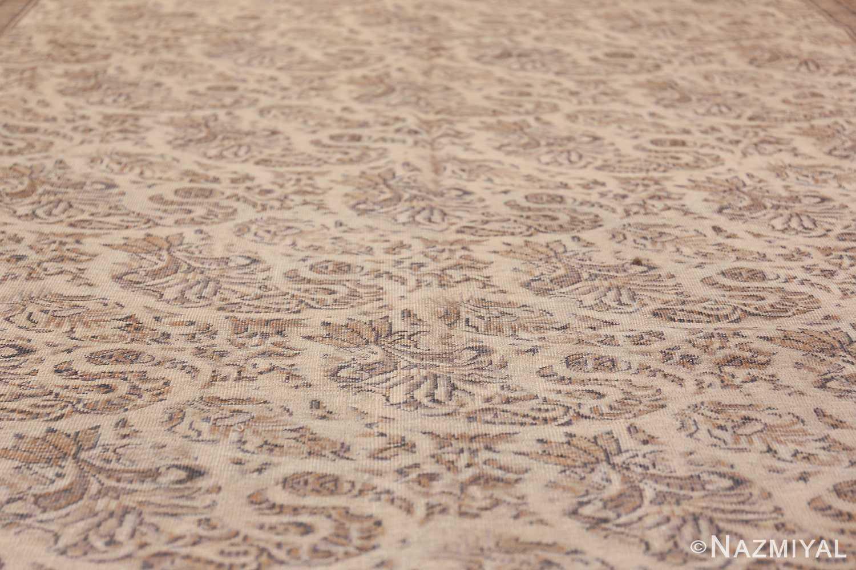 Paisley Design Antique Turkish Sivas Carpet 50520 Field Wide Shot Nazmiyal