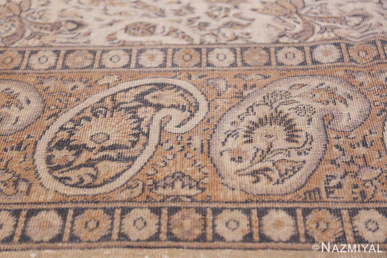 Paisley Design Antique Turkish Sivas Carpet 50520 Top Border Nazmiyal