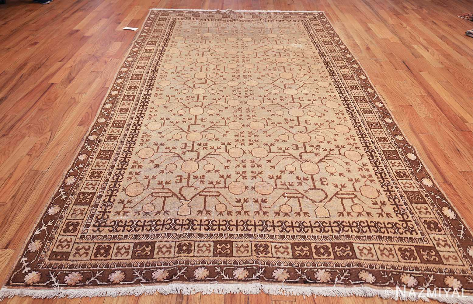pomegranate design antique khotan rug 50673 whole Nazmiyal